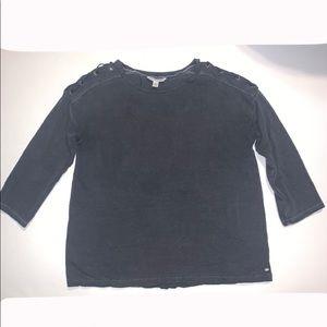 American Eagle 3/4 Sleeve Sweatshirt